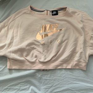 Nike crop sweatshirt